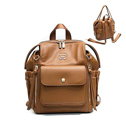 Miss Fong Kleiner Mini-Rucksack für Damen mit Organizer und Griffen