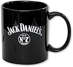 Jack Daniel's Old No. 7 Brand 8 oz Black Stoneware Coffee Mug