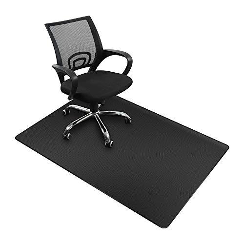 Alfombra de protección de suelo, alfombra para silla de oficina de PVC con diseño antideslizante, alfombra de suelo para suelos duros, laminados y azulejos, alfombra para muebles 140 x 90 cm