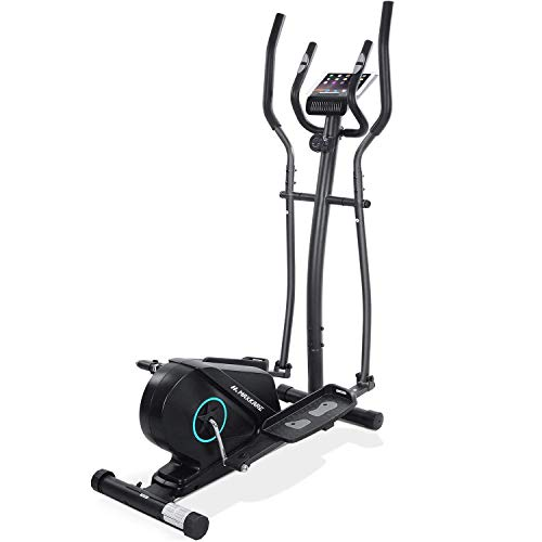 MaxKare Elliptical Machine for Home Use Elliptical Machine Elliptical Exercise Machine Elliptical Trainer Quiet Portable Magnetic Resistance Smooth Movable Elliptical with Heavy Duty Flywheel
