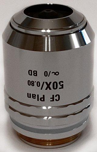 Nikon | CF Plan 50x/0.80 ∞/0 BD WD 0.54 (Brightfield/Darkfield) Microscope Objective Lens (MUM20501