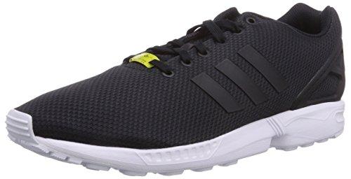 adidas ZX Flux M19840, Deportivas, color Negro, - 43 1/3 EU