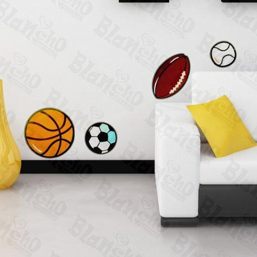 Boule Collection – Patchs Rouge Stickers muraux Stickers Décoration intérieure