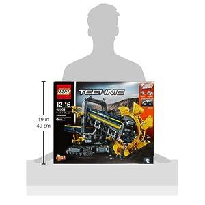 Amazon.co.jp - レゴ テクニック バケット掘削機 42055