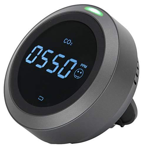 CO2-Messgerät, Luftqualitätsdetektor, intelligentes USB-Ladegerät für den Außenbereich