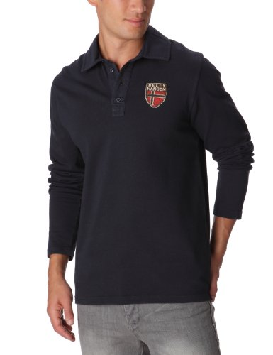Helly Hansen Faerder Rugger Polo homme Navy S