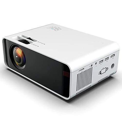 CGGA - Proiettore LED 1080p Wireless WiFi Vedio Proiettore Home Cinema con 3.000 ANSI Lumen Proiettore di film mobile con 30.000 ore di durata della lampada LED compatibile con HDMI, VGA, TF, AV e USB