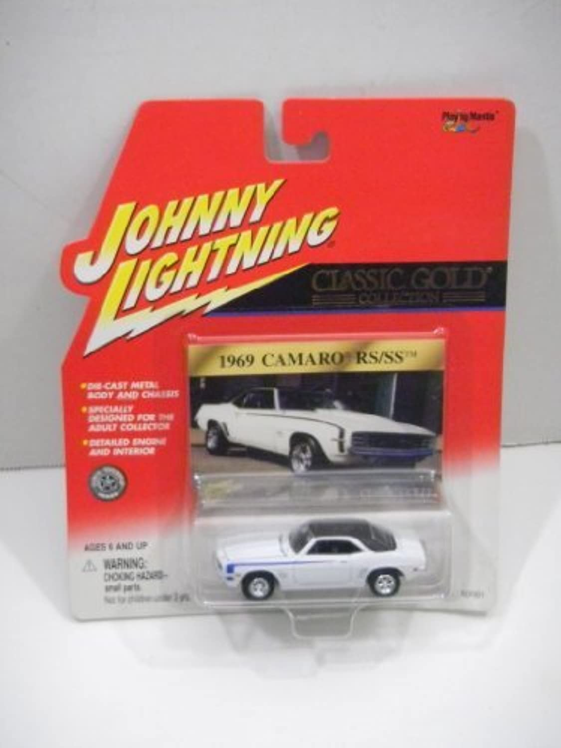 Johnny Lightning Classic Gold Collection 1969 Chevy Camaro RS SS Weiß by Johnny Lightning