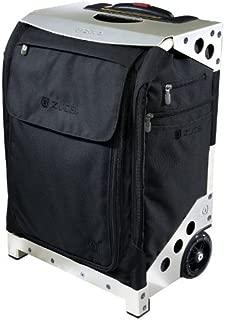 ZUCA Flyer Bag - Black/Silver