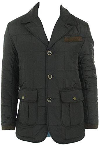 Sean John Men's Reversible Nylon Aviator Jacket, Black (XXL)