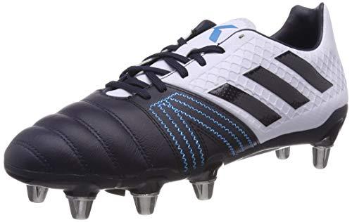 Adidas Kakari Elite SG, Botas de Rugby Hombre, Azul (Aero Blue S18/Legend Ink/Shock Cyan Aero Blue S18/Legend Ink/Shock Cyan), 42 2/3 EU
