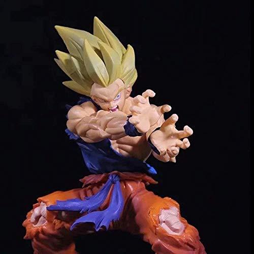 WANGSHAOFENG 11. Generation-Sohn Goku 21cm Action Figure Animierte Charaktere Schildkröte Qigong-Kakarotto Skulptur Statue Modell Kinder Spielzeug Geschenk Dekorationen Sohn Goku Dragon Ball