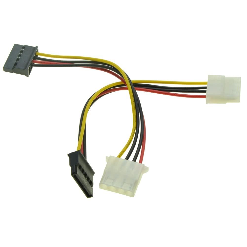 5pcs lot 4Pin Molex online shop IDE Female to Serial ATA Sale 15pin Power