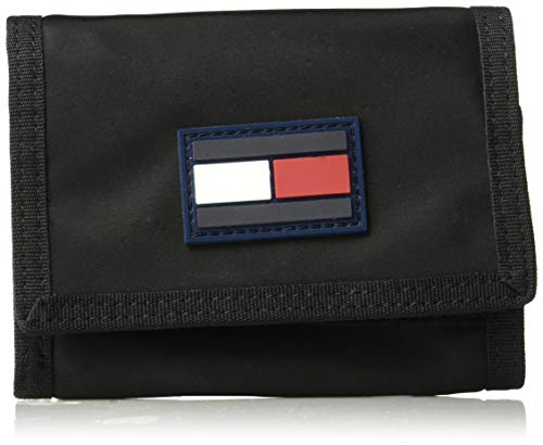 Tommy Hilfiger Leah Trifold Wallet, Black