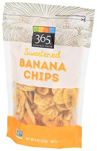 365 Everyday Value, Sweetened Banana Chips, 8 oz