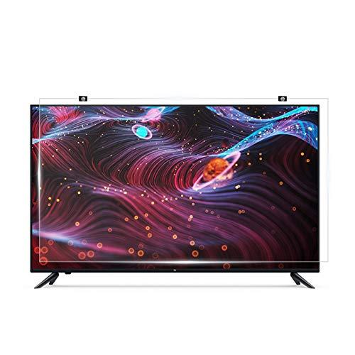 "WSHA Protector de Pantalla de TV sin Marco de 65""/ 70"" Película Anti-luz Azul/Rayado, Reduce la Fatiga Ocular, para LCD LED OLED HDTV,70in"