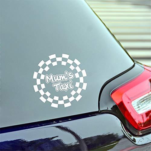 Wandtattoo Schlafzimmer 15 * 15 Cm Mammen-Taxis-Abziehbild-Mode-Motorrad Suvs Autoscooter-Fenster-Laptop-Auto Stylings-Aufkleber