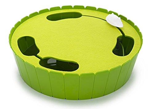 Penn-Plax Interactive Electronic Hide and Seek Mouse Cat Toy