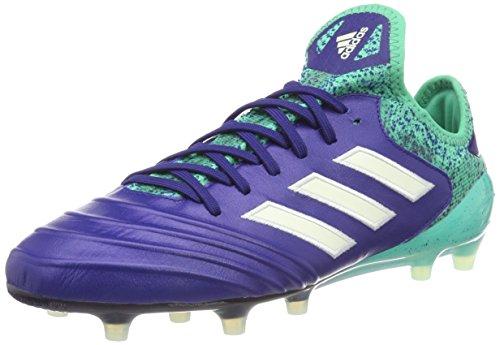 adidas Copa 18.1 FG, Zapatillas de Fútbol para Hombre, Azul Blau/Grün, 41 1/3 EU