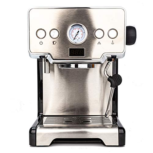 Coffee Maker Portable Coffee Maker Automatic espresso machine Rapid heating One Touch Operation Espresso Maker for Home, Office, RV Stainless Steel
