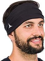 Bandeau Anti-Transpiration pour Homme et Femme. Serre-tête pour Sport, Entrainement, Running, Cyclisme, Fitness et Yoga....