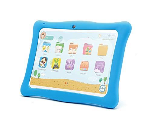 InnJoo Tablet Infantil INNJOO K102 Blanca con Marco Protector Azul - QC - 1GB RAM - 16GB - 10'/25.4CM - Android 8.1 GO - Bat 4000MAH