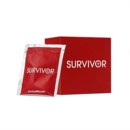 SURVIVOR Party Pack, Alcohol Health Supplement Tablets. Blend of Herbal Extracts, and 16 Minerals, Vitamins, and Electrolytes.