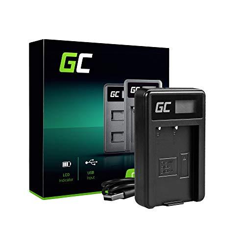 Green Cell® MH-23 Cargador para Nikon EN-EL9 Batería y DSLR D40 D40X D60 D3000 D5000 Cámaras (5W 8.4V 0.6A Negro)