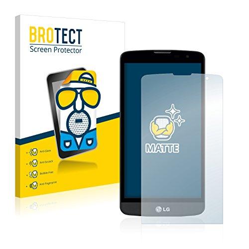 BROTECT 2X Entspiegelungs-Schutzfolie kompatibel mit LG L Bello Bildschirmschutz-Folie Matt, Anti-Reflex, Anti-Fingerprint