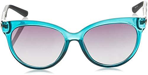 Guess GF6007-5492B Gafas de sol, Green, 54 para Mujer