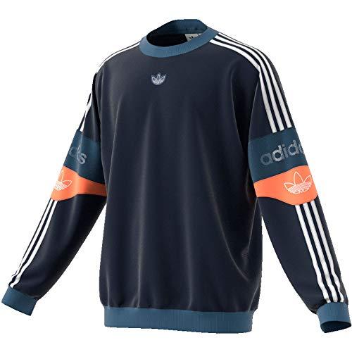 adidas Originals Herren Sweatshirt TS Trefoil Sweatshirt Marine (52) L