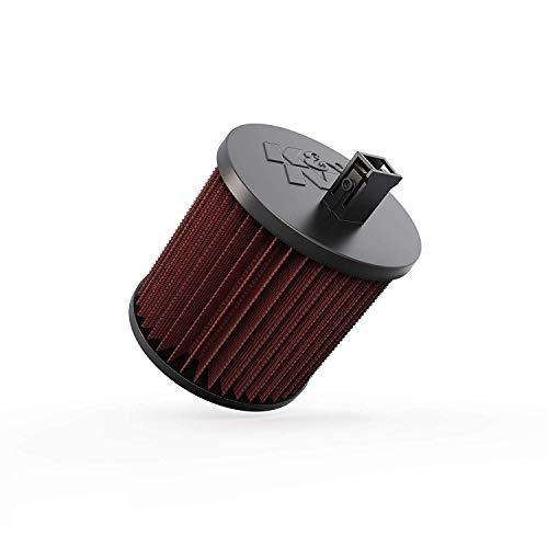 K&N E-0650 Waschbarer und wiederverwendbarer KFZ Luftfilter Red