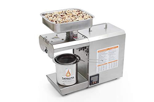 Savaliya Industries 400W-Hexa Edible Oil Maker Machine; Silver (Digital Temperature...