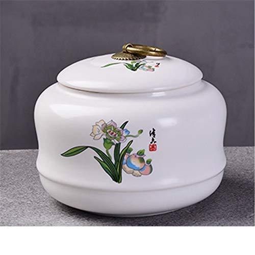 FFDGHB tè e caffè in Ceramica Zuccheriera e Coperchio Teiera Candela in Ceramica sigillata per spezie in Scatola 12 * 8cm