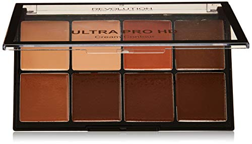 Revolution Contour Palette Ultra Pro HD Cream Medium Dark