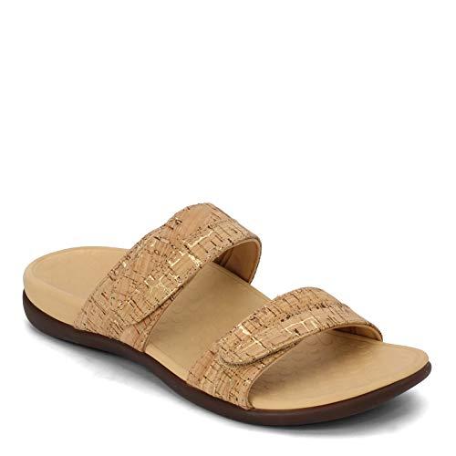Vionic Women's, Shore Slide Sandal Cork 9 M