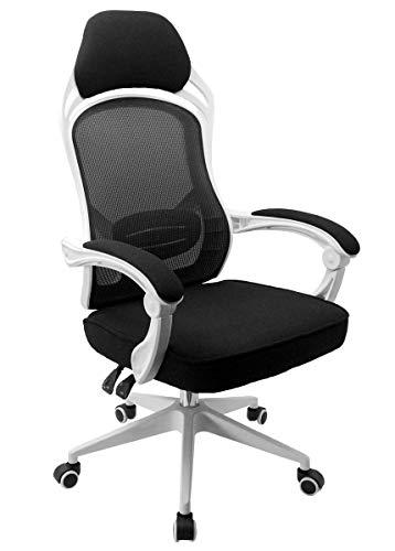 Cadeira Escritório Presidente Gamer Branca Tela Mesh Conforsit 4534