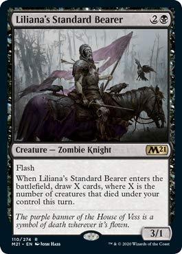 Magic: The Gathering - Liliana's Standard Bearer - Foil - Core Set 2021