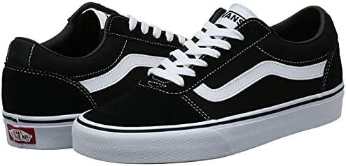 VANS Ward Men's Athletic & Outdoor Shoes, Multicolour (Black/White ...