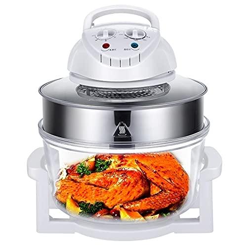 Freidora de aire Cocina de inducción multifunción, Horno de convección eléctrico turboalimentado Cocina Cocina de alimentos 110V 12L Utensilios de cocina saludables sin aceite