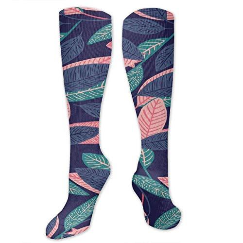 Floral Plant Wallpaper Unisex Funny Casual Athletic Warm Winter Crew Socken für Frauen für Männer