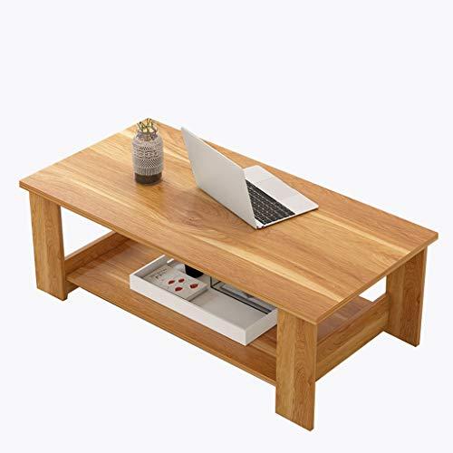 Mesa de centro de madera, Mesa de centro simple, Mesa auxili