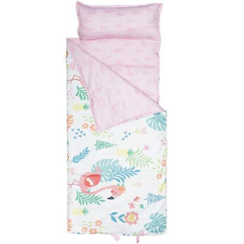 Hi Sprout Kids Toddle Lightweight and Soft Nap Mat (Flamingo)