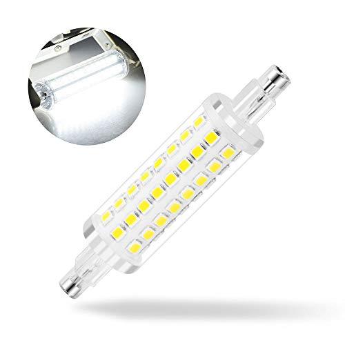 Kreema R7S Base LED Light J78 78MM Bulbo di mais 3014 SMD, 10W alogena di ricambio Bulbo di mais, AC220V Lampada a risparmio energetico Cool White