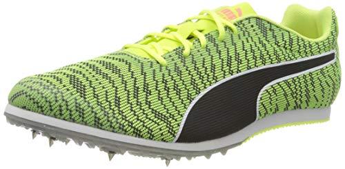 PUMA Evospeed Star 6, Zapatillas de Atletismo Hombre, Amarillo (Fizzy Yellow Black), 41 EU