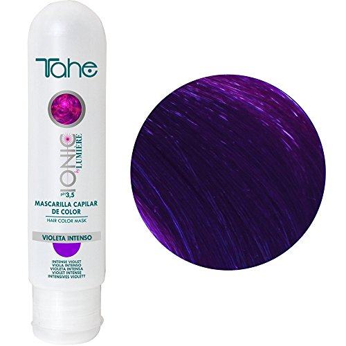 Tahe - Ionic By Lumiere-Mascarilla De Color Ref. Violeta Intenso 100 Ml.