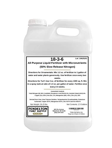 All Purpose Liquid Fertilizer & Micro Nutrients by Pendelton Turf Supply Inc.