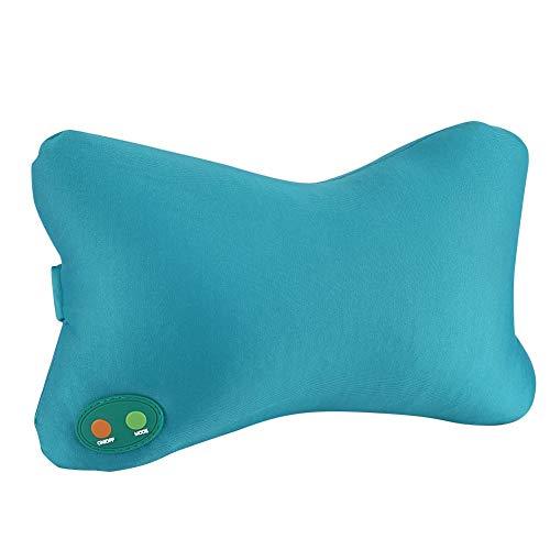 Solomi Massagekissen nackenkissen Massage,Dekaim Massagekissen Wärme Nacken Rückenmassagegerät mit 5 Modus Nackenkissen zur Massage Schmerzlinderung
