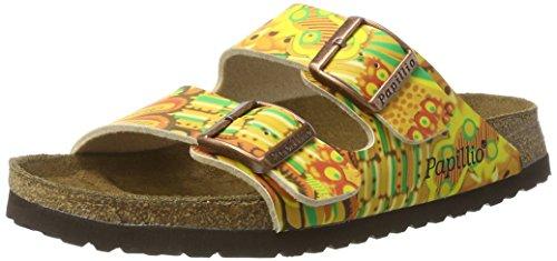 Papillio Arizona Birko-Flor, Damen Pantoletten, Mehrfarbig (African Wax Gold), 38 EU