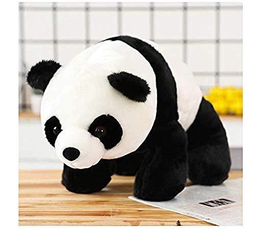 JIAL Peluche Juguete Lindo tamaño Grande Panda Bear Muñeca de Peluche S Pillow Dibujos Animados Kawaii Dolls Niños Niñas Regalos de cumpleaños 30 cm Chongxiang
